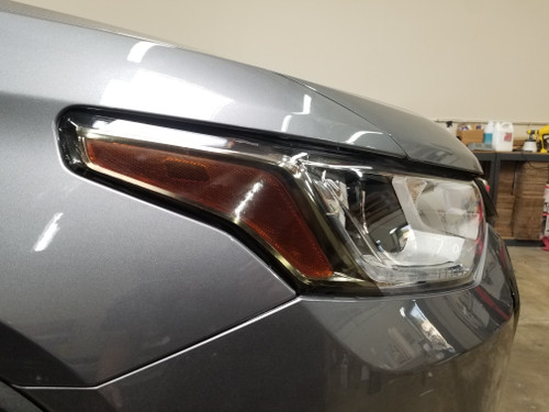 Smoked Head Light Amber Delete Overlays Tint (2018-2020 Traverse)