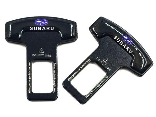 2pcs - Car Seat Belt Buckle Alarm Stopper Clip - Subie