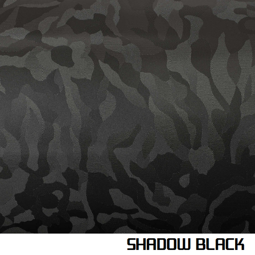 Shadow Black Vinyl Wrap 3D Textured - Universal Kit