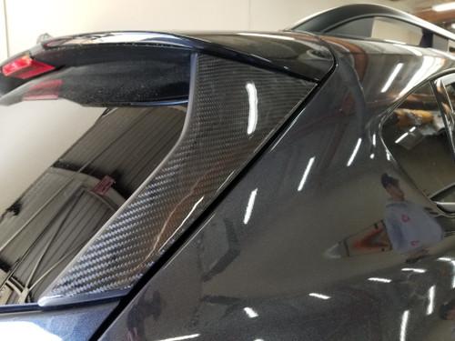 100% Real Carbon Fiber Door PIllars A,B & C, Hatch - 16 pcs (2018-2021 Crosstek)