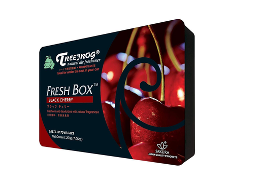 Treefrog Fresh Box Car Air Freshener Scent - Black Cherry