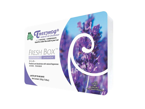 Treefrog Fresh Box Car Air Freshener Scent - Lavender