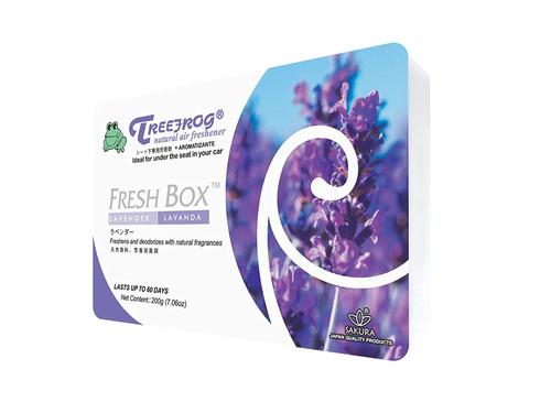 Treefrog Fresh Box Car Air Freshener Scent - Lavender