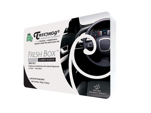 Treefrog Fresh Box Car Air Freshener Scent - New Car