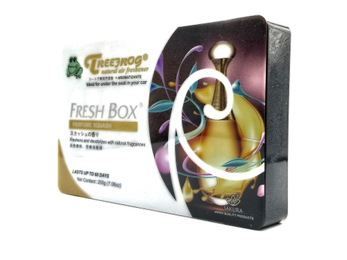 Treefrog Fresh Box Car Air Freshener Scent - Perfume Squash