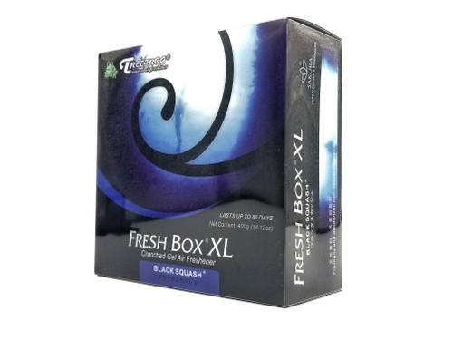 XL Extra Large Treefrog Fresh Box Car Air Freshener Scent - Black Squash