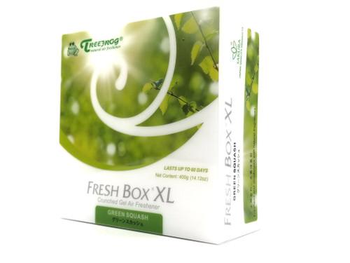 XL Extra Large Treefrog Fresh Box Car Air Freshener Scent - Green Squash