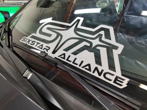"Lower Windshield banner SSA Logo (5"" x 20"")- DECAL"