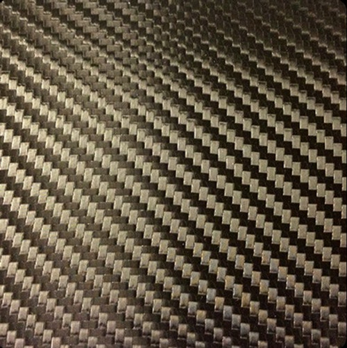 Black Carbon Fiber Vinyl Wrap Overlay 3D Textured - Universal Kit
