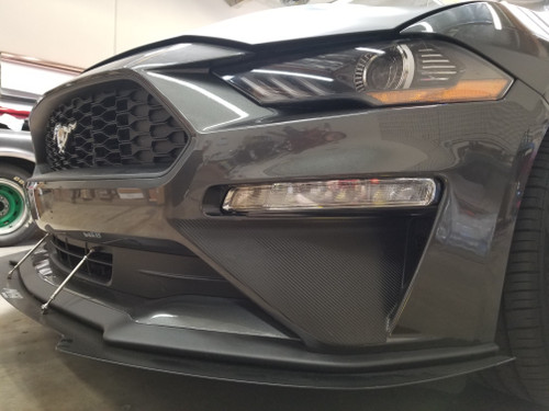 Front Bumper Roush Style Accent Overlay (18-20 Mustang)