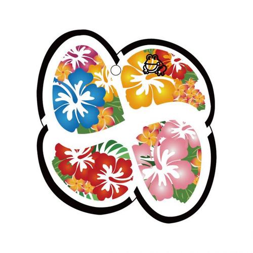 Aloha Lucky Leaf Treefrog Car Air Freshener Scent - Squash X