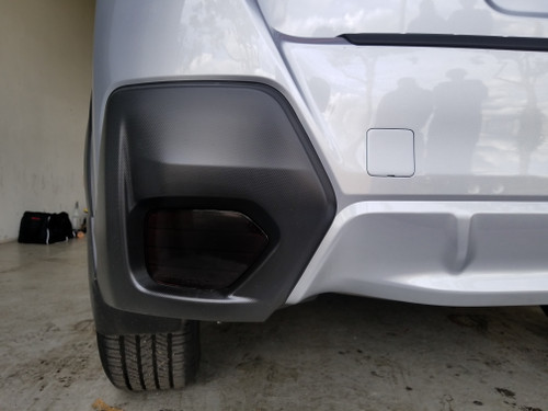 Precut BLACKOUT Rear Reflector Overlays Tint (2018-2021 Crosstrek XV / Impreza)