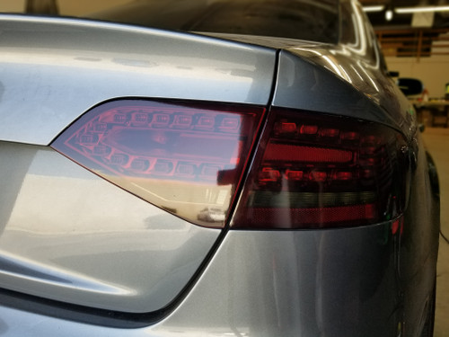 Smoked Tail Light Overlays (09-12 Audi A4/S4)