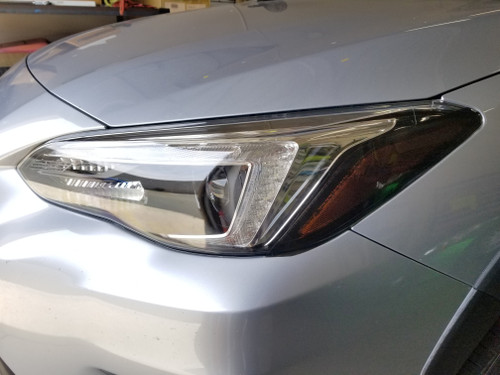 Head Light Amber Delete Steering Responsive Headlights - Dark Smoked Tint (2018-2021 Crosstrek XV / Impreza)