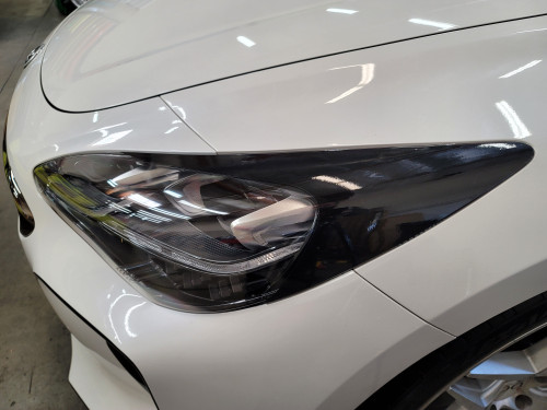 BLACKOUT Head Light Amber Delete with Eyelids Overlays Precut (Stinger 2018)