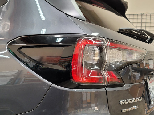 Smoked Side Tail Light Reflector Overlays Tint (2020-2021 Outback)