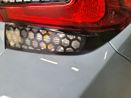 HoneyComb Black turn Signal Overlays Tint (2018-2021 Crosstrek XV / Impreza Hatchback)