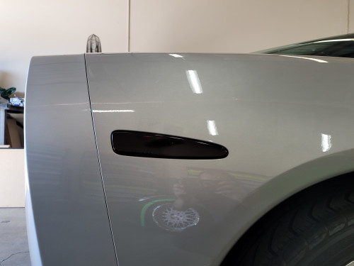 Smoked Rear Side Reflector Overlays Tint (05-13 Chevrolet Corvette C6)