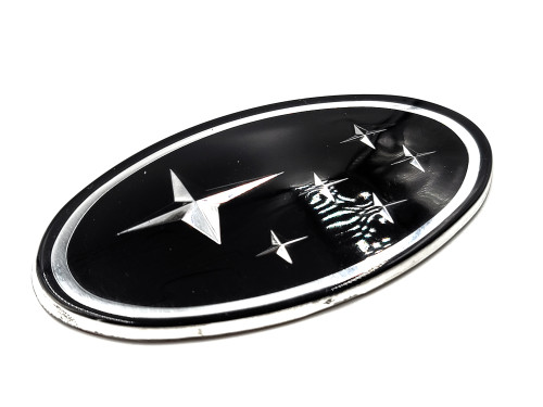 "Black Replacement Emblem ""Stars"" - Front (02-05 WRX/STI)"