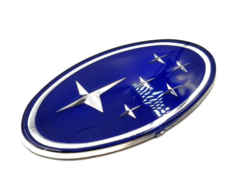 "Blue Replacement Emblem ""Stars"" - Front (02-05 WRX/STI)"