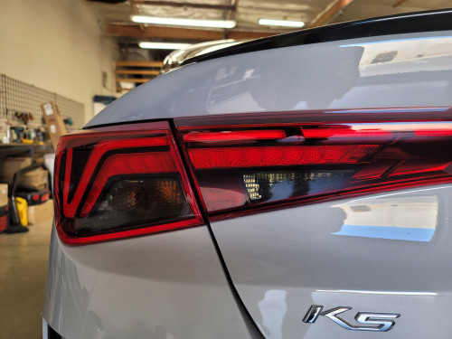 Tail Light Overlays Precut Tint (2021 K5)