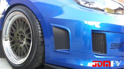 Precut Bumper Scoops Overlay Inserts  (08-14 WRX/STI)