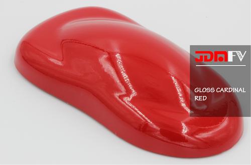 Gloss Cardinal Red Vehicle Wrap - JDMFV