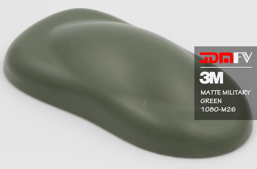 3M 2080 M26 - Military Matte Green Vehicle Wrap Vinyl - Universal Kit