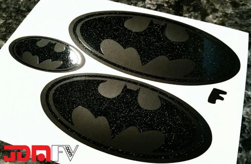 BATMAN - Emblem Front/Rear Overlays (13-16 Crosstrek XV)