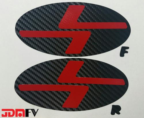 08-09 subaru legacy L7 emblem overlays