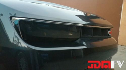 2015 Chevrolet Camaro Precut Smoked Head Light Overlays Tint