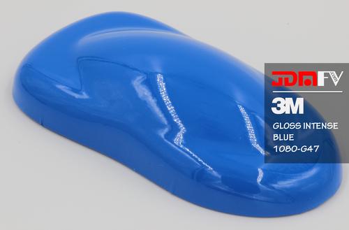 3M 2080 G47 - Gloss Intense Blue Vehicle Wrap Vinyl - Universal Kit