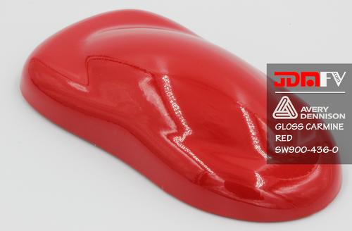 Avery Dennison SW900 -  Gloss Carmine Red Vehicle Wrap Vinyl - Universal Kit