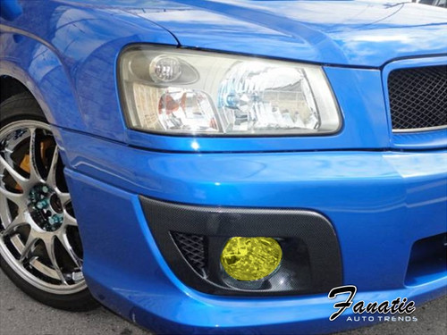 Precut Yellow Fog Light Overlays Tint Kit (03-05 Fozzy)