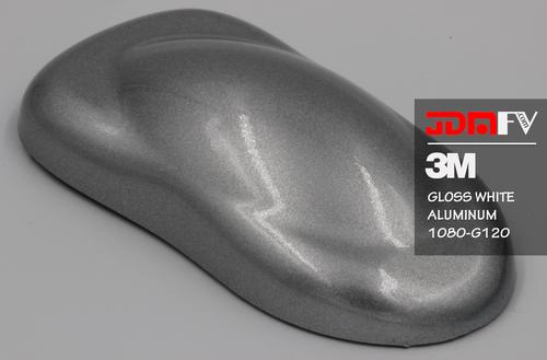 3M 2080 G120 - Gloss White Aluminum Vehicle Wrap Vinyl - Universal Kit
