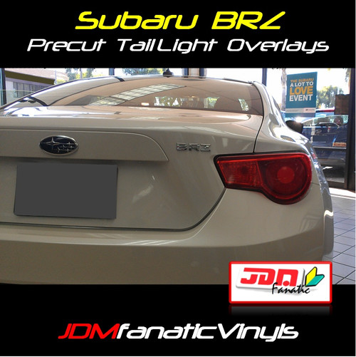 Precut RedOut Tail Light Overlays Tint (12-16 BRZ/FRS)