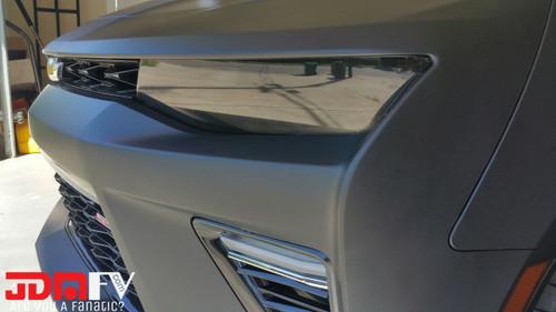 2016+ Chevrolet Camaro Precut Smoked Head Light Overlays Tint