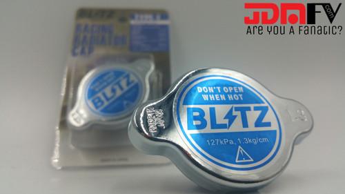 BLITZ Type 1 Radiator Cap - Blue