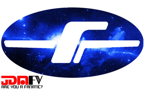 BLUE GALAXY -  Precut Emblem Overlays Front/Rear (09-13 Forester)