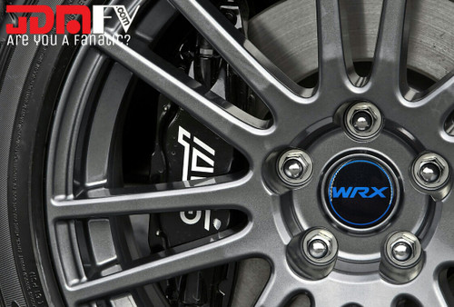 """BLUE DOMED Wheel Center Cap Overlays - 56mm (2.2"""" Inches)"""