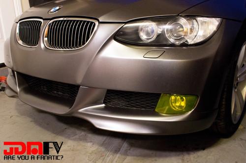 E92 Yellow Fog Light Overlays