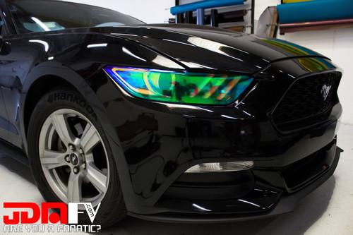 Neo Chrome - Head Light Overlays (15-17 Mustang)