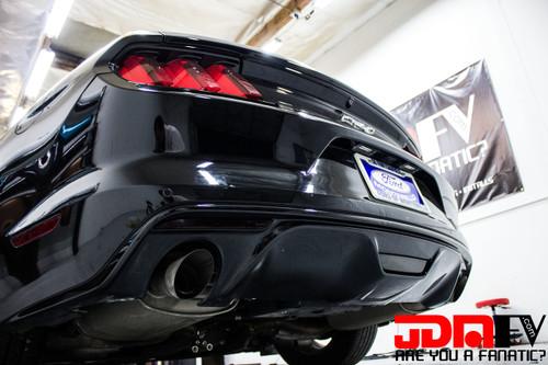 Smoked - Rear Bumper Marker Overlays (15-17 Mustang)