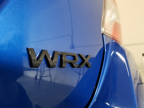 WRX Black Gloss or Matte Trunk Emblem (2015-2020 WRX/STI)