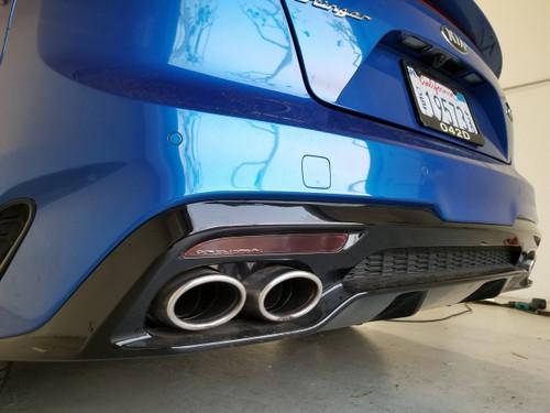 Rear Bumper Reflector Overlays Precut Tint (Stinger 2018)