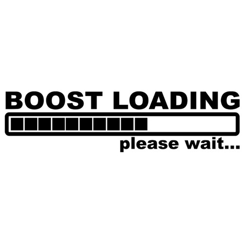 Boost Loading - DECAL