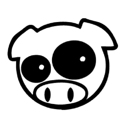 Rally Pig - DECAL