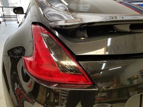 Nissan 370z Precut Smoked Reverse/blinker Overlays Tint