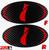 """""""i"""" - Precut Emblem Overlays Front/Rear (08-14 WRX/STI)"""