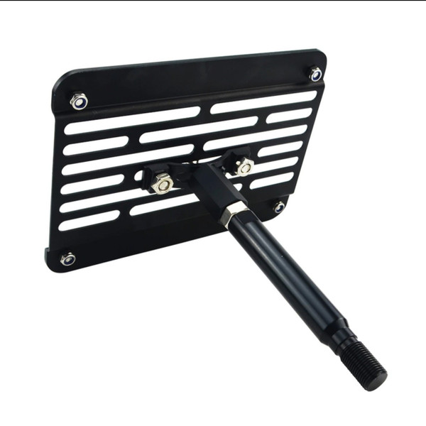 License Plate Relocator -  Multi-Angel Tow Hook Mount